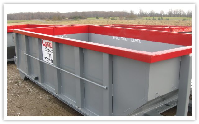 Garbage Bin Rentals, Barrie, ON