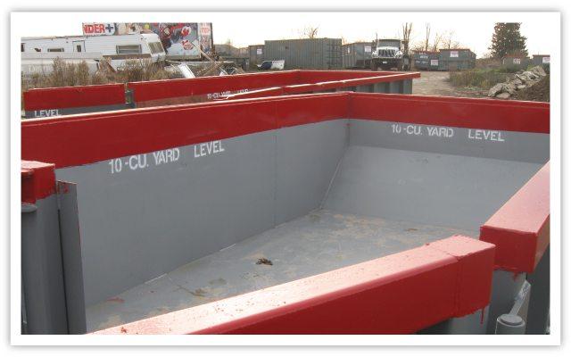 Construction Waste Bins
