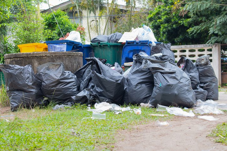 Four Times You Need a Container for Rubbish Removal