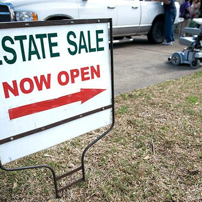 Garbage Bin Rentals are Handy for Preparing for an Estate Sale