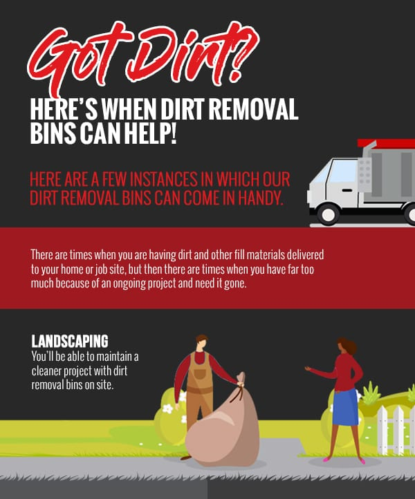 Got Dirt? Here's When Dirt Removal Bins Can Help! [infographic]
